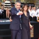 Rowan Atkinson and Sunetra Sastry - 392 x 620