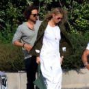 Gwyneth Paltrow – Arriving in the Amalfi Coast