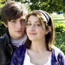 Aaron Johnson as Robbie and Georgia Groome as Georgia Nicolson in Paramount Pictures' Angus, Thongs and Perfect Snogging.