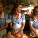 Becky, Jenna, and Dawn discussing ...Oh..Sorry..Can't Say...Watch Waitress 2007