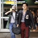 Lili Reinhart and Cole Sprouse- Arriving Back in Vancouver 01/10/2018 - 454 x 414