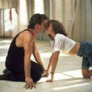 Patrick Swayze and Jennifer Grey