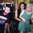 Twiggy Ramirez and Courtney Love