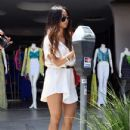 Brenda Song did some shopping with a friend in Beverly Hills, California on July 11, 2012