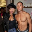 Meagan Good and Romeo