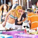 Bella Thorne in Bikini Top at Venice Beach - 454 x 520