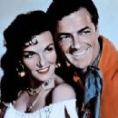 Jane Russell and Cornel Wilde