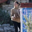 Jenna Dewan in Black Jeans – Out in Los Angeles
