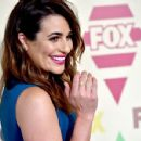Actress Lea Michele arrives at the FOX TV All-Star party during the 2015 Summer TCA Tour at Soho House on August 6, 2015 in West Hollywood, California