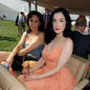 Dita Von Teese - Jul 27 2008 - Cartier International Polo 2008 At Guards Polo Club In Windsor