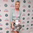 Laura Whitmore Evian Live Young Suite On The Opening Day Of Wimbledon In London