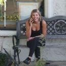 Sofia Richie at Graphaids in Calabasas
