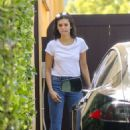 Nina Dobrev in Jeans – Out in West Hollywood - 454 x 681