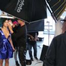 Demi Lovato Allure 2014 Behind The Scenes