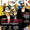 Steve Forrest, Brian Molko, Stefan Olsdal - My Rock Magazine Cover [France] (August 2013)