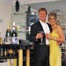 Teddy Sheringham and Nicola Smith