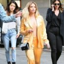 Ashley Benson – Leaving an office building in NYC