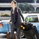 Emmy Rossum - LAX Airport, 2009-11-07