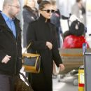 Alicia Vikander Travel Style – JFK Airport in New York City 03/06/2019