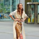 Joan Smalls – Doing a photoshoot in New York - 454 x 645