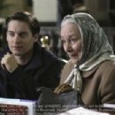 Tobey Maguire as Peter Parker and Rosemary Harris as May Parker in Spider-Man 2