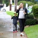 Jennifer Garner out and about in Los Angeles Monday, October 17, 2016