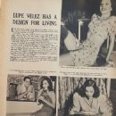 Lupe Velez - Girls in the news Magazine Pictorial [United States] (January 1939)