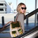 Annabelle Wallis departs from LAX - 454 x 535