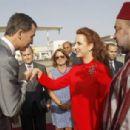 Princesa Letizia de Asturias and Felipe de Borbon Spanish Royals Visit Morocco - July 15, 2014