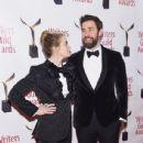 Emily Blunt and John Krasinski :  71st Annual Writers Guild Awards - New York Ceremony - 436 x 600