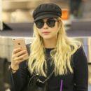 Ashley Benson at LAX International Airport in Los Angeles November 23, 2017