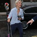 Emma Willis – Arriving at BBC Radio Studios in London - 454 x 759