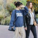 Selena Gomez – Getting lunch with a friend in Studio City