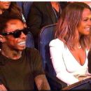 Lil Wayne and Christina Milian at The Espys