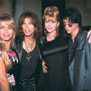 Steven Tyler and Teresa with Bebe Buell