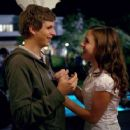 Evan (Michael Cera, left) could get the chance to hook up with Becca (Martha MacIsaac, right) as he has the night of his life in Superbad, the new film from producers Judd Apatow and Shauna Robertson (The 40-Year-Old Virgin), screenwriters Seth Rogen & Ev