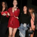Ireland Baldwin – Supports Corey Harper at his show in Hollywood - 454 x 681