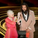 Helen Mirren and Jason Momoa At The 91st Annual Academy Awards - Show - 454 x 336