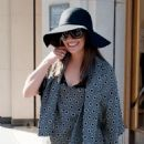 Lea Michele: Out and about in paris