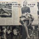 Geneviève Grad - Festival Magazine Pictorial [France] (20 December 1960) - 454 x 302