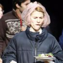 "Claire Danes - Set Of ""Me And Orson Welles - February 28, 2008"