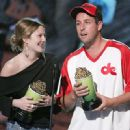 2004 MTV Movie Awards - Drew Barrymore and Adam Sandler - 449 x 330