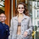Bella Hadid – Out at Paris Fashion Week in Paris