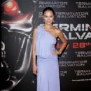 Moon Bloodgood - The Premiere Of 'Terminator Salvation' - Le Grand Rex In Paris, France 2009-05-28