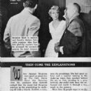 Jacques Bergerac and Dorothy Malone - TV Guide Magazine Pictorial [United States] (25 October 1958)