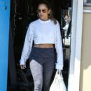 Jennifer Lopez seen leaving a gym after working out in Miami, Florida on March 16, 2017 - 412 x 600