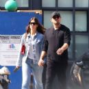 Camila Morrone and Leonardo Dicaprio – Out in Downtown Manhattan