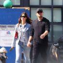 Camila Morrone and Leonardo Dicaprio – Out in Downtown Manhattan