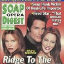 Sarah Buxton, Ronn Moss, Hunter Tylo - Soap Opera Digest Magazine Cover [United States] (24 April 2001)