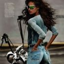 Cameron Russell Vogue Paris Magazine April 2014